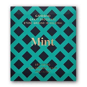 Goodio 65% Mint Craft Chocolate Bars 1.7 oz