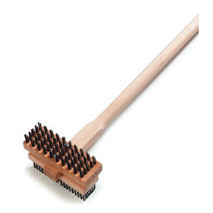 "Carlisle 48"" Double Broiler King Brush"