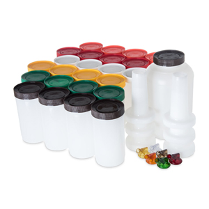 Carlisle Store 'N Pour Complete Bar Service Assorted Pourer Pack