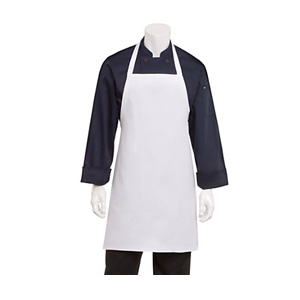 Chef Works White Bib Apron