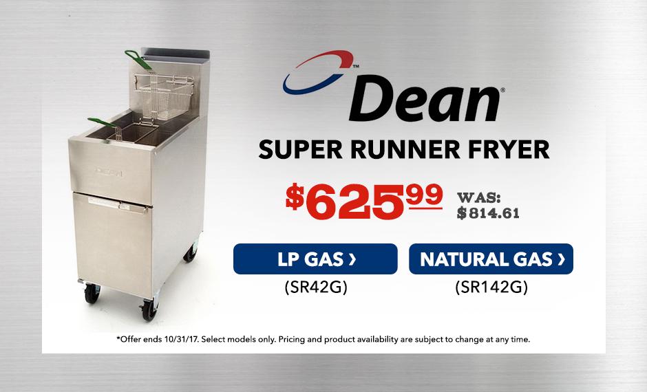 Dean Super Runner Fryer