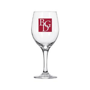 BGD Libbey Perception Wine Glass  w/ Imprint