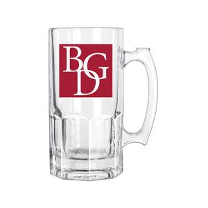 BGD Libbey Gibraltar Glass Mug w/ Imprint