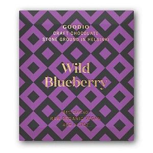Goodio 61% Wild Blueberry Craft Chocolate Bars 1.7 oz