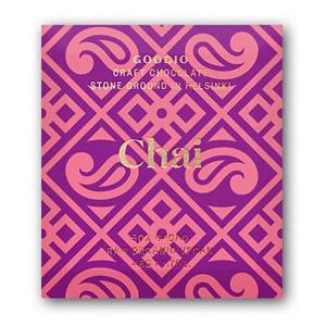 Goodio 50% Chai Craft Chocolate Bars 1.7 oz