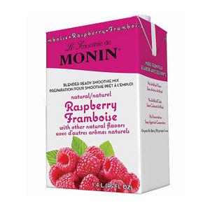 Monin 46 oz Raspberry Smoothie