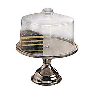 American Metalcraft Cake Stand with Cover