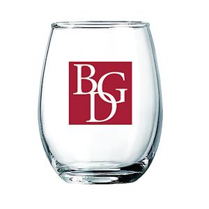 Arc Wine Glass Clear 5½ oz Stemless Wine Glass