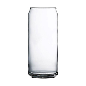 Cardinal International Arcoroc 16 oz Can Cooler Tall Boy Glass Clear