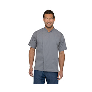 Chef Works Gray Springfield Chef Coat