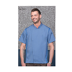 Chef Works Ink Blue Springfield Chef Coat