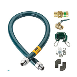 "Krowne Royal Series Moveable Gas Connection Kit 1"" I.D."