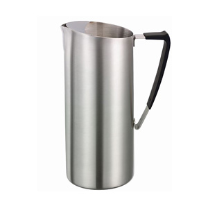 Service Ideas 64 oz Pitcher Double Walled Slim Stainless