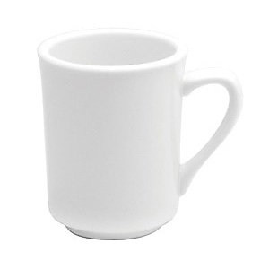 Oneida®  Buffalo 8 oz Cream White Delmonico Mug