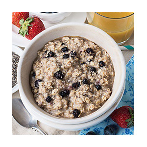 Earnest Eats Hot & Fit 15 lb Superfood Blueberry Chia Cereal