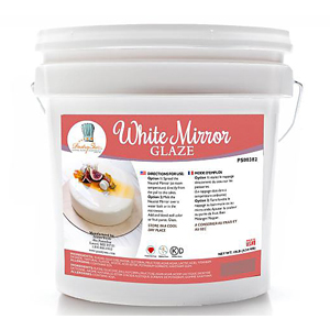 PastryStar White Mirror Glaze 10 lb