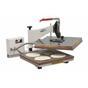 "DoughXpress 15"" Manual Tortilla Dough Press"
