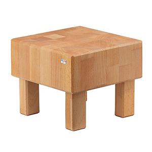 G.E.T. Pure Nature Butcher Block Square Cube Risers