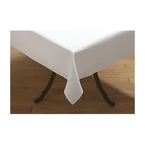 Carlisle Marko SoftWeave Signature Rectangle Table Cloth White
