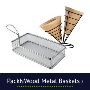 PackNWood Metal Baskets